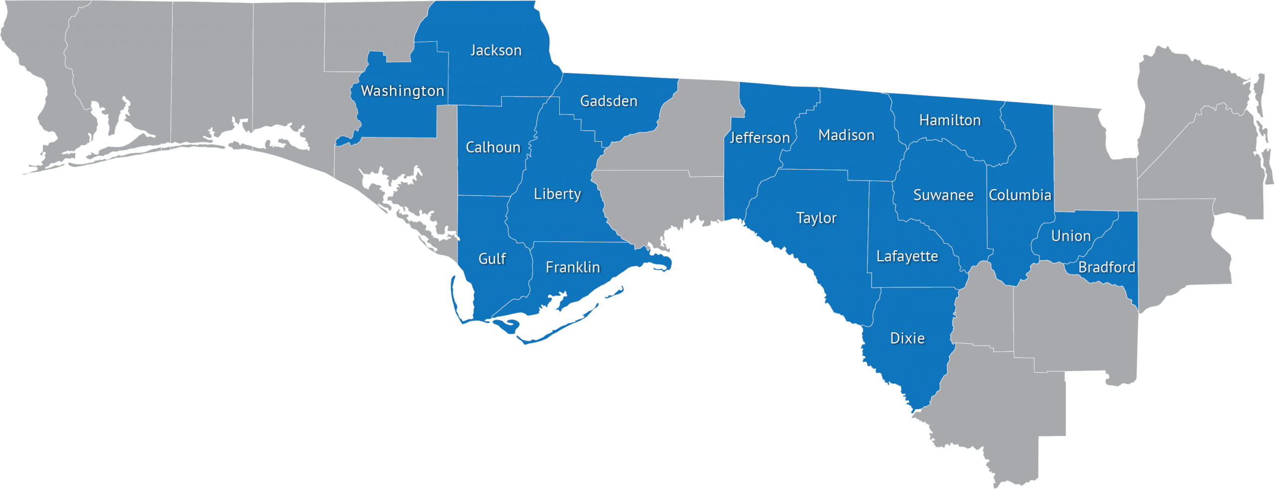 Image Depicting Counties for Section 8 Housing